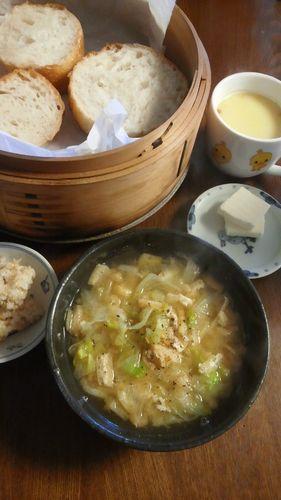 レタスの味噌汁 by nekotano
