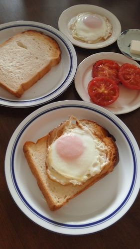 目玉焼きパン by nekotano