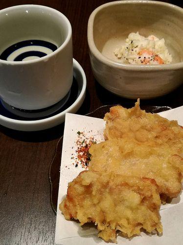 厨のテンペの天ぷら