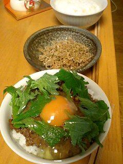 肉味噌丼 by nekotano