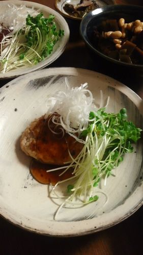豆腐ハンバーグ by nekotano