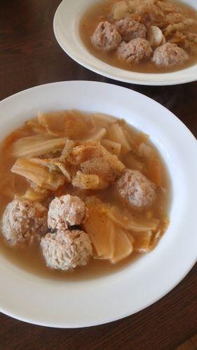 干し白菜と肉団子のスープ by nekotano